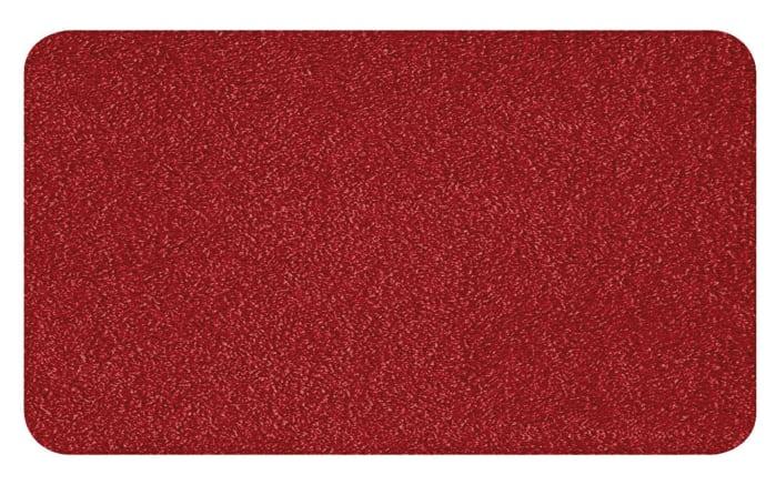 Badteppich Super Soft in weinrot, 55 x 65 cm