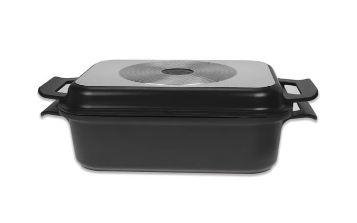 Multifunktionsbräter Gli Speciali in schwarz, 6,2 l