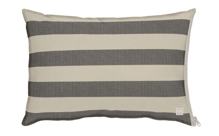 Kissenhülle in grau/beige, 41 x 61 cm