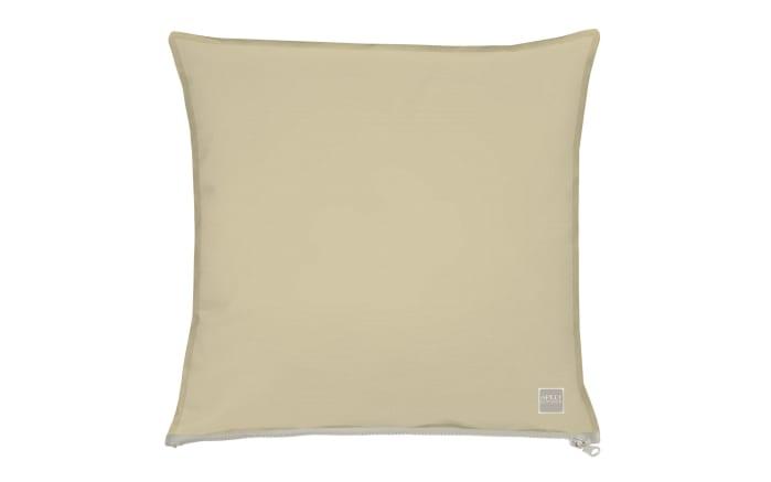 Kissenhülle in beige, 49 x 49 cm