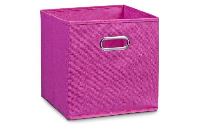 Aufbewahrungsbox in pink, 28 x 28 cm