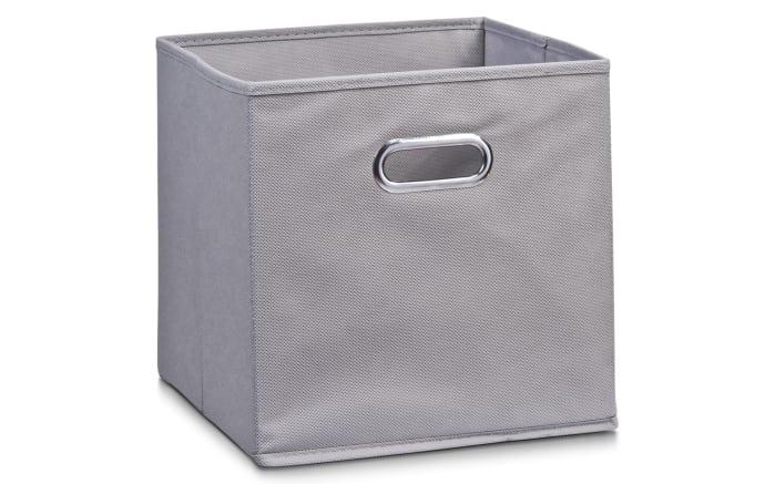 Aufbewahrungsbox in grau, 32 x 32