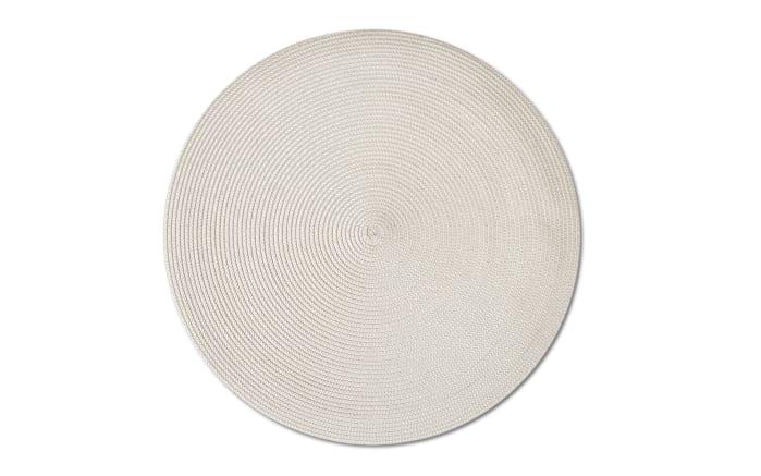 Tischset Twist in creme, 38 cm