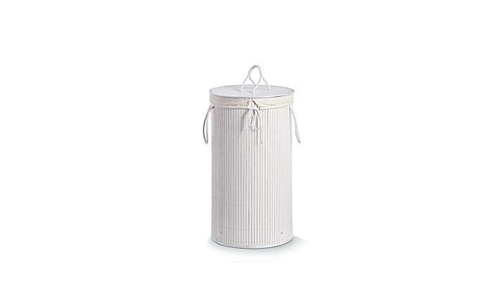 Wäschesammler in weiß