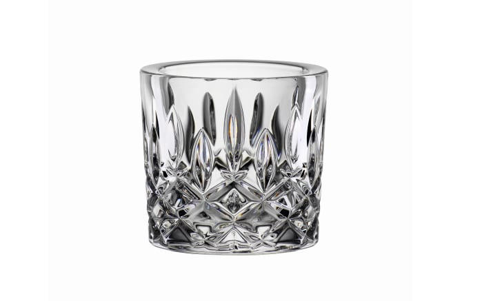 Teelichthalter Noblesse in klar, 6,6 cm