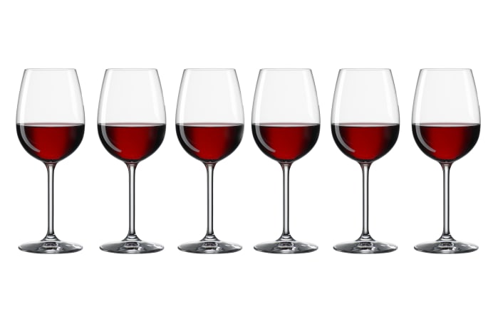 Rotweinkelch 420 ml Life, 6-teilig