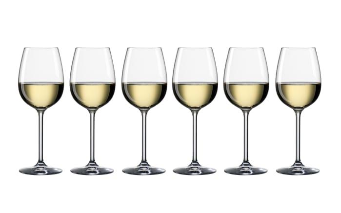 Weißweinglas 340 ml Life, 6-teilig