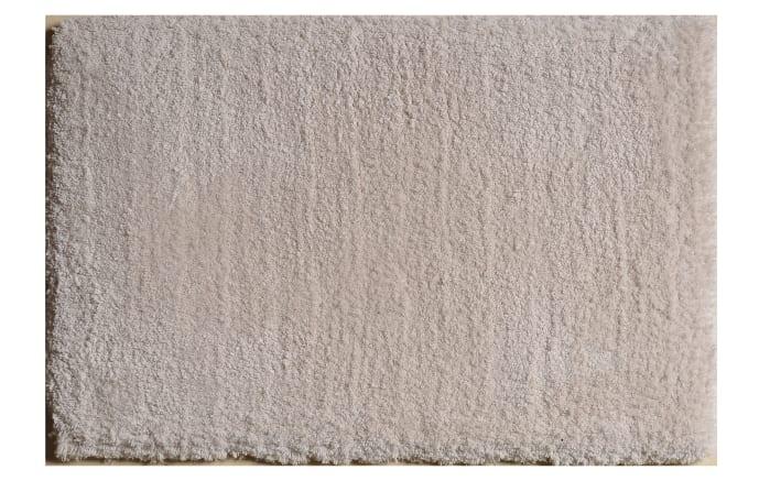 Teppich Shaggy Elegance in creme, 65 x 130 cm