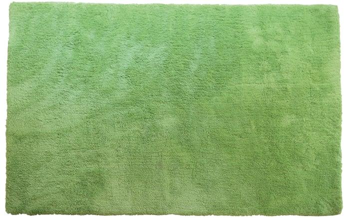 Teppich Shaggy Elegance in grün, 120 x 170 cm