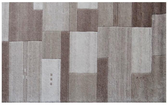 Teppich Nepal Silky In Border Grau 40 X 60 Cm Online Bei Hardeck Kaufen