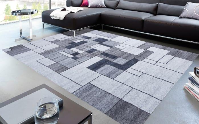 Teppich Eternity in grau, 170 x 240 cm