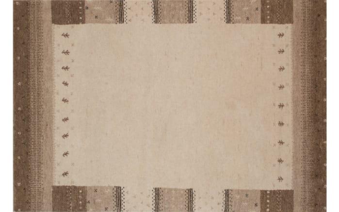 Teppich Heaven Gabbeh Narur pur in beige, 90 x 160 cm