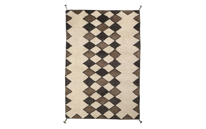 Teppich Beni in beige 140 x 200 cm