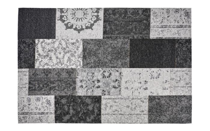 Designer-Teppich Milano in silber 155 x 230 cm